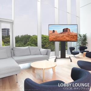 テレビ台 WALL自立型テレビスタンドPRO アクティブ 32~79v対応 ハイタイプ キャスター付き 移動式 自立型TVスタンド|akaya|04