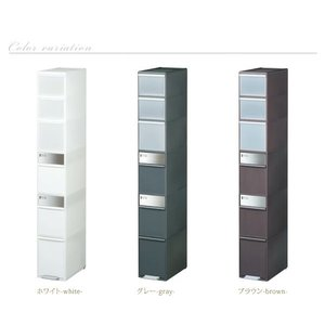 ごみ箱 分別 ゴミ箱 ダストボックス キッチン 高さ170cm|akaya|05