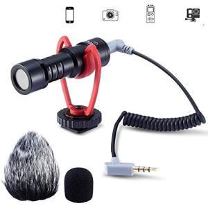 Ulanzi VM-Q1 ビデオマイク カメラマイク 一眼レフマイク 外部マイク 集音マイク 外付け...