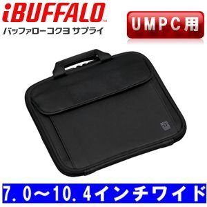 BUFFALO バッファローコクヨサプライ UMPC用 ハンドル付インナーバッグ 7.0〜10.4ワイド対応 ブラック BSINH04BK akb2011shop