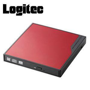 Logitec ロジテック USBバスパワー対応 スーパーマルチDVDドライブ LDR-PME8U2VRD レッド|akb2011shop