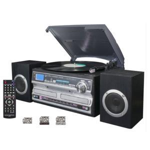 ●レコード・カセット・CD・ラジオが1台で楽しめる! ●レコード・カセット・CD・外部入力の音源をC...
