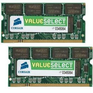 Corsair  メモリ VS4GSDSKIT800D2G - 4GB 2x2GB SODIMM DDR2 800MHz|akb2011shop