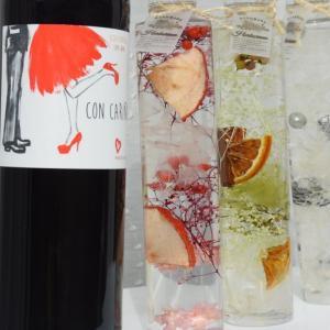 ハーバリウムと赤ワインのギフトセット (プレゼント 誕生日 記念日 クリスマス バレンタイン ホワイトデー 母の日 お祝いに) akemibeautyshop