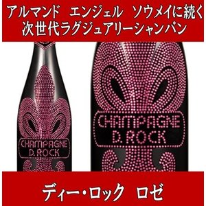 D ROCK ディー ロック ロゼ 正規品 箱無し ブラックボトル 750ml|akemibeautyshop