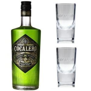コカレロ COCALERO (ショットグラス2個付き) 29度 700ml (パリピ酒) (誕生日 プレゼントに) akemibeautyshop