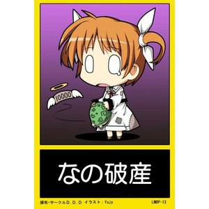 魔法少女リリカルなのはバックプレート LNBP−013 / D.D.D   AKBH|akhb