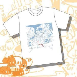 モノ=ノケモノ もののけいっぱいTシャツ L / みかん汁ふりかけ 発売日2016−08−14 AKBH akhb