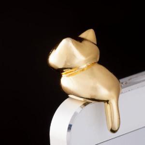金色にゃんこ型イヤフォンジャック まねきねこ / ピンクカンパニー 発売日2013−08−20 AKBH|akhb