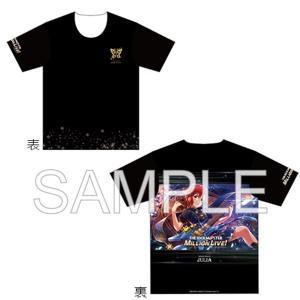 アイドルマスター ミリオンライブ! フルカラーTシャツ シャイニングワールド ジュリアVer. M / つくり|akhb
