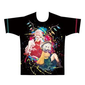 東方ProjectフルカラーTシャツ「フラン&こいし」XXL / イザナギ 発売日2017−08−07 AKBH|akhb