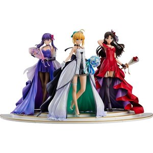 Fate/stay night セイバー 凛 桜 15th CelebrationDressPremiumBox / グッドスマイルカンパニー akhb