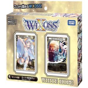ウィクロスTCG 構築済みデッキ ホワイトホープ WXD−01 / タカラトミー 発売日2014−04−26 AKBH|akhb