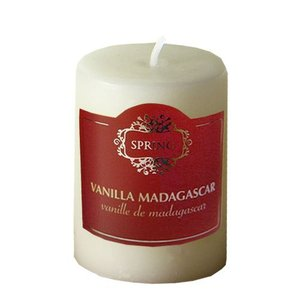 SPRING キャンドルmini/オフホワイトバニラ/Off-White Vanilla【0404】 akiba-e-connect