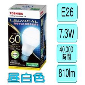 東芝 LED電球 E-CORE LDA7NG60W 昼白色 光が広がるタイプ(一般電球60W形相当) 810lm|akiba-e-connect