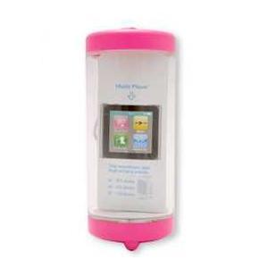 アンプ搭載お風呂スピーカー プチポム ピンク|akiba-e-connect