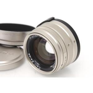 コンタックス CarlZeiss G Planar 45mm F2 T* レンズフード・キャップ・フ...