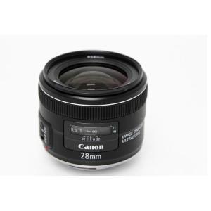 キヤノン EF28mm F2.8 IS USM 広角単焦点レンズ 【K153】|akiba-ryutsu