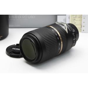タムロン SP 70-300mm F4-5.6 Di VC USD ModelA005 ニコン用 【K174】|akiba-ryutsu