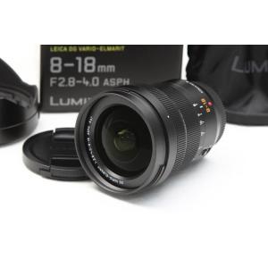 パナソニック LEICA DG VARIO-ELMARIT 8-18mm F2.8-4.0 ASPH. H-E08018 超広角ズームレンズ 【K185】|akiba-ryutsu