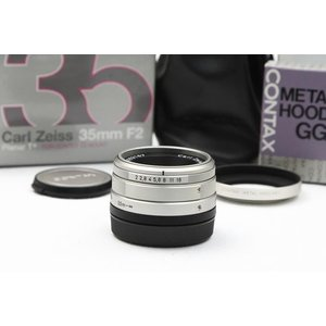 コンタックス CarlZeiss G Planar 35mm F2 レンズスードなど付属品一式付き ...