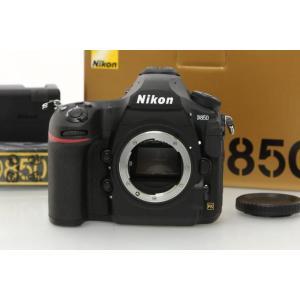 ニコン D850 ボディ シャッター回数50回以下 【K462】 デジタル一眼レフカメラ