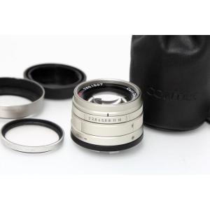 コンタックス CarlZeiss G Planar 45mm F2 【K1202】 レンジファインダ...