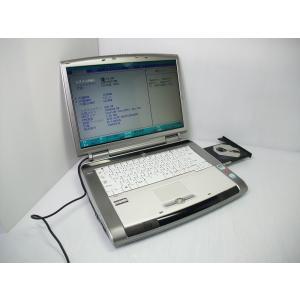 [仕様] ●CPU:Core2Duo T5500 1.66GHz ●メモリ:2GB ●HDD:120...