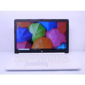 中古 ノートパソコン HP 15-db0221AU 6ML82PA-AAAA A6-9225/4GB...