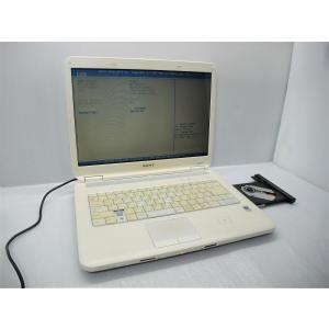 中古 ノートパソコン SONY VAIO VGN-NS50B Core2Duo P8400 /2GB...