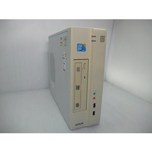 中古 省スペースデスクトップ EPSON Endeavor AY-301 C2D-E7500/2GB...