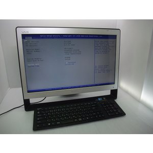 中古 モニタ一体型デスクトップ SONY VAIO VPJ138FJ Corei5-480/4GB-...