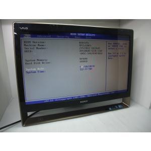 中古 モニタ一体型デスクトップ VAIO VPCL128FJ C2D-E7500/4GB-MEM/1...