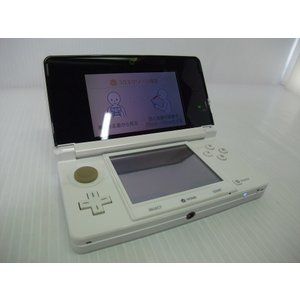 ●携帯ゲーム機 中古 任天堂 ニンテンドー3DS 白  [付属品] ●タッチペンのみ付属いたします。...