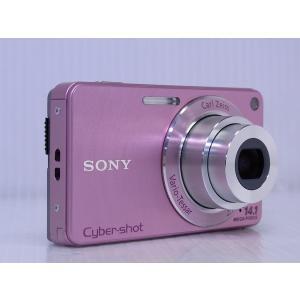 中古 コンパクトデジタルカメラ SONY Cyber-shot DSC-W350 ピンク|akiba-yushop|02