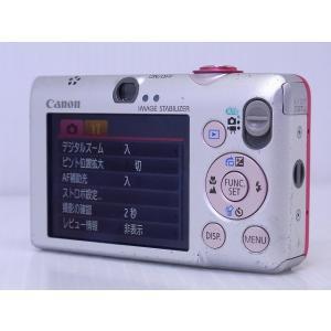 中古 コンパクトデジタルカメラ Canon IXY DIGITAL 110 IS レッド akiba-yushop 03