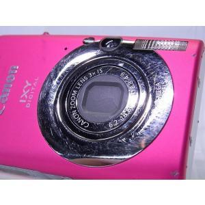 中古 コンパクトデジタルカメラ Canon IXY DIGITAL 110 IS レッド akiba-yushop 07