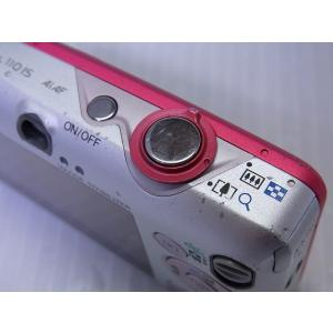 中古 コンパクトデジタルカメラ Canon IXY DIGITAL 110 IS レッド akiba-yushop 10