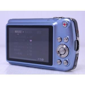 中古 コンパクトデジタルカメラ CASIO EXILIM ZOOM EX-Z1 ブルー akiba-yushop 03