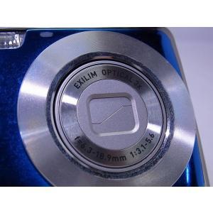 中古 コンパクトデジタルカメラ CASIO EXILIM ZOOM EX-Z1 ブルー akiba-yushop 06