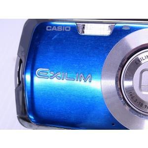 中古 コンパクトデジタルカメラ CASIO EXILIM ZOOM EX-Z1 ブルー akiba-yushop 07