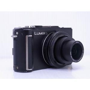 中古 コンパクトデジタルカメラ Panasonic LUMIX DMC-LX3 ブラック ※バッテリ不良、外装破損あり|akiba-yushop|02
