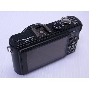 中古 コンパクトデジタルカメラ Panasonic LUMIX DMC-LX3 ブラック ※バッテリ不良、外装破損あり|akiba-yushop|04