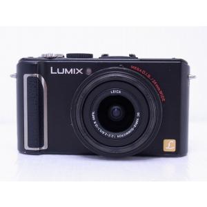 中古 コンパクトデジタルカメラ Panasonic LUMIX DMC-LX3 ブラック ※バッテリ不良、外装破損あり|akiba-yushop|05
