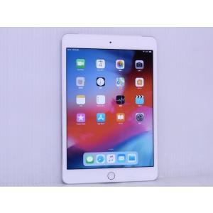 中古 iOSタブレット au Apple iPad mini 3 Wi-Fi + Cellular 16GB シルバー Model 1600 MGHW2J/A|akiba-yushop