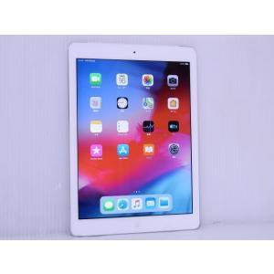 中古 iOSタブレット SoftBank Apple iPad Air Wi-Fi +Cellular 32GB シルバー Model A1475 MD795J/B akiba-yushop