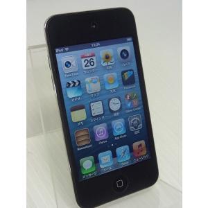 中古 Apple iPod touch 第4世代 8GB ブラック A1367 MC540J/A