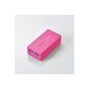 [新品] モバイルバッテリ ELECOM DE-M01L-6030PN(ピンク)|akiba-yushop