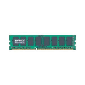 中古未使用品 デスクトップ用メモリ BUFFALO PC3-12800 2GB|akiba-yushop