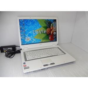 [中古]  A4ノートパソコン NEC Lavie PC-LL370MG1T [Sempron-3600+/2GB-MEM/160GB-HDD/DVDスーパーマルチ/15.4inchW/無線LAN/WindowsVista]|akiba-yushop